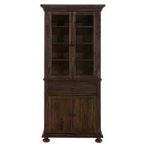 Jofran Geneva Hills Small Space China Cabinet