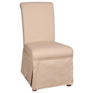 Morris Home Furnishings Long Beach Long Beach Parson Chair