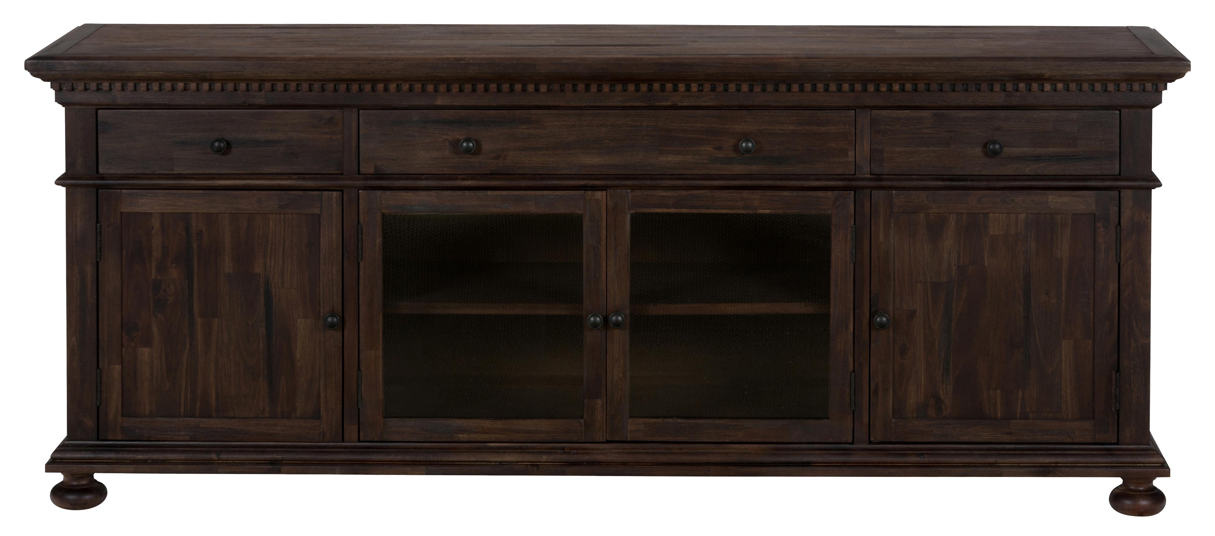 "Morris Home Furnishings Long Beach Yale 80"" Console - Item Number: 679-80"