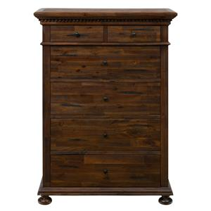 Jofran Geneva Hills Chest with 5 Full Extension Drawers