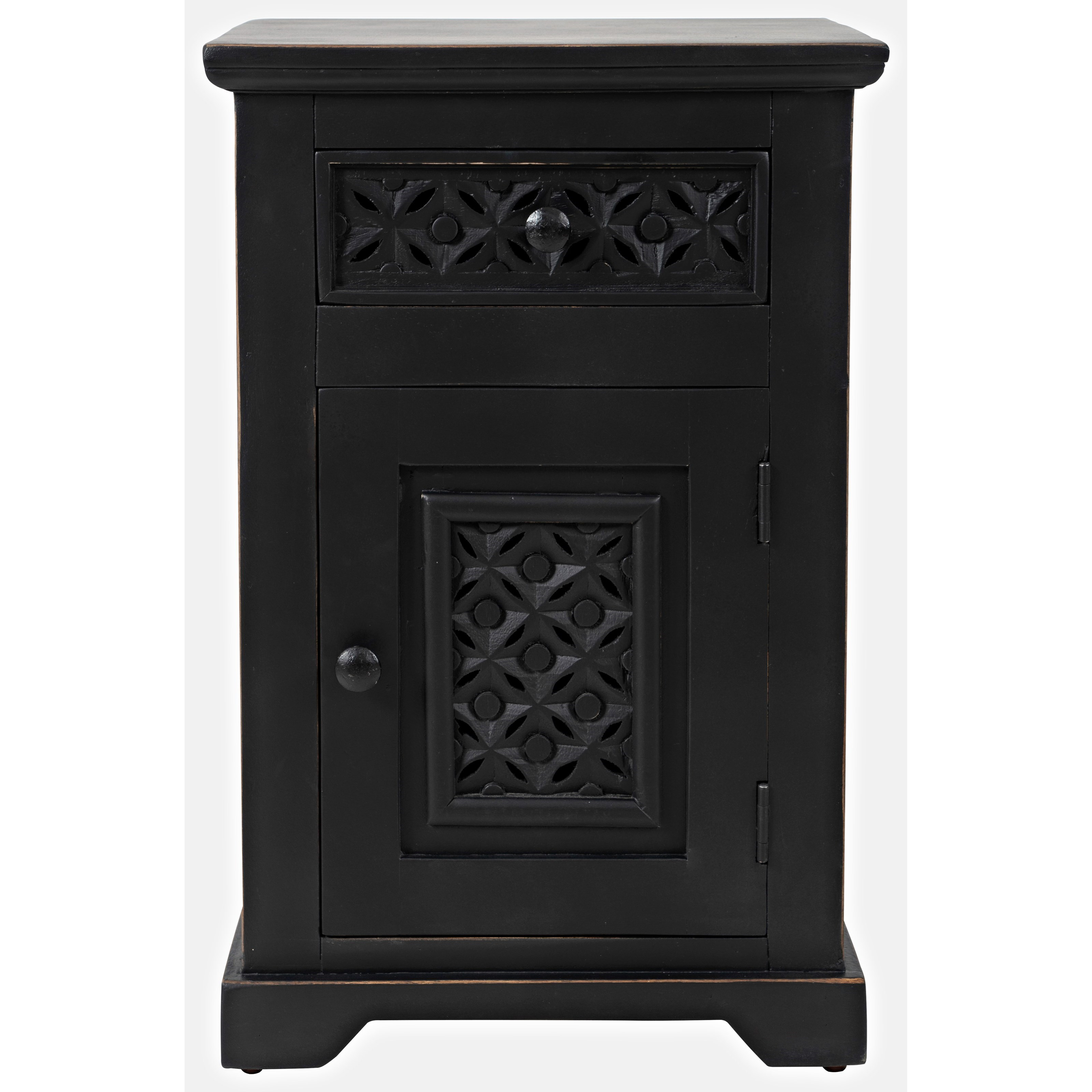 Global Archive Decker Cabinet Accent Table by Jofran at Jofran