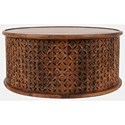 Jofran Global Archive Decker Drum Coffee Table - Item Number: 1730-1736MGO