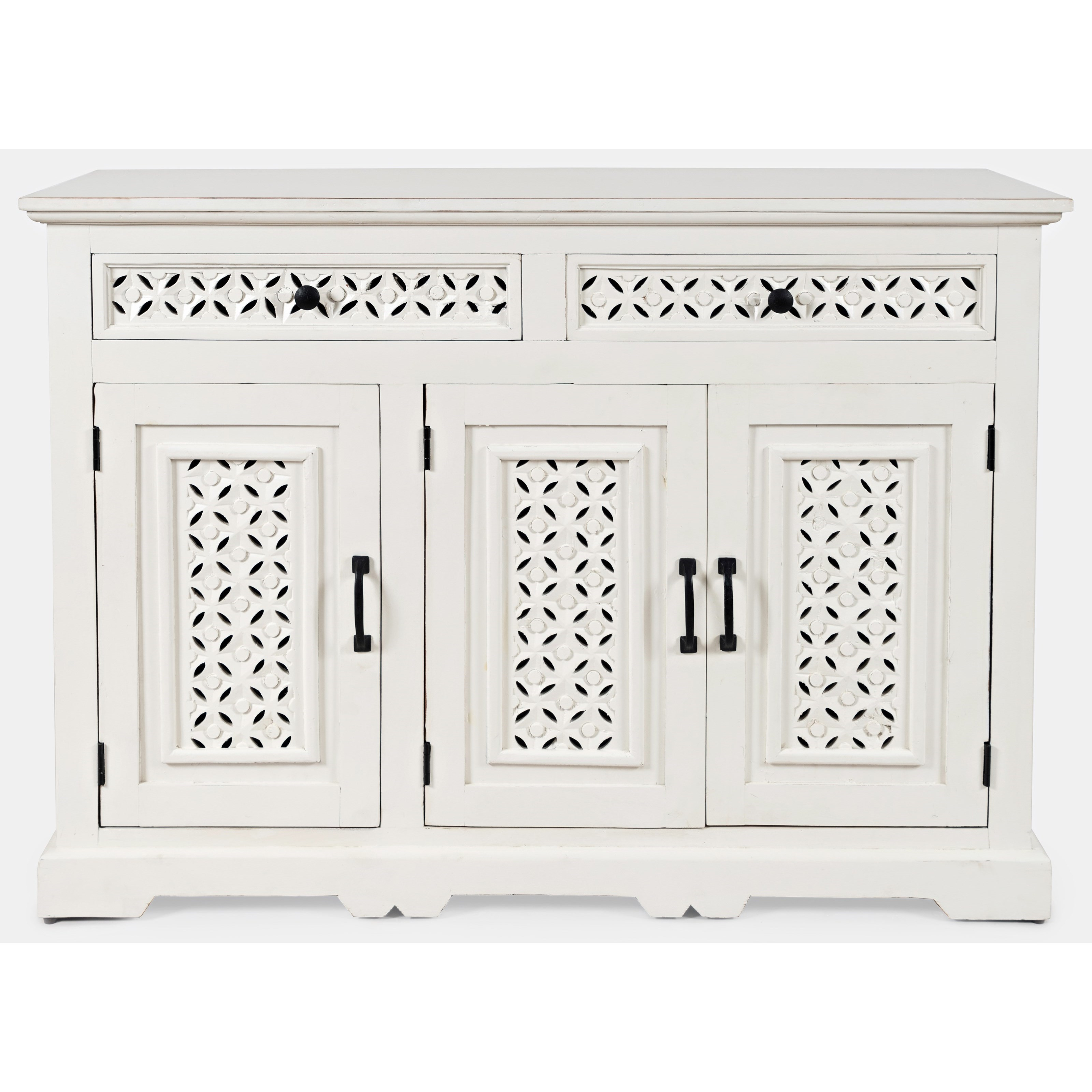"Global Archive Decker 48"" Console by Jofran at Stoney Creek Furniture"