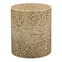 Jofran Global Archive Round Capiz Accent Table - Item Number: 1730-28SND