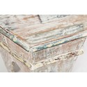 Jofran Global Archive Arabesque Accent Table - Table Top Detail Shot