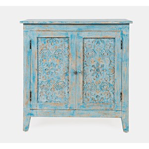 Chloe Hand-Carved Accent Chest