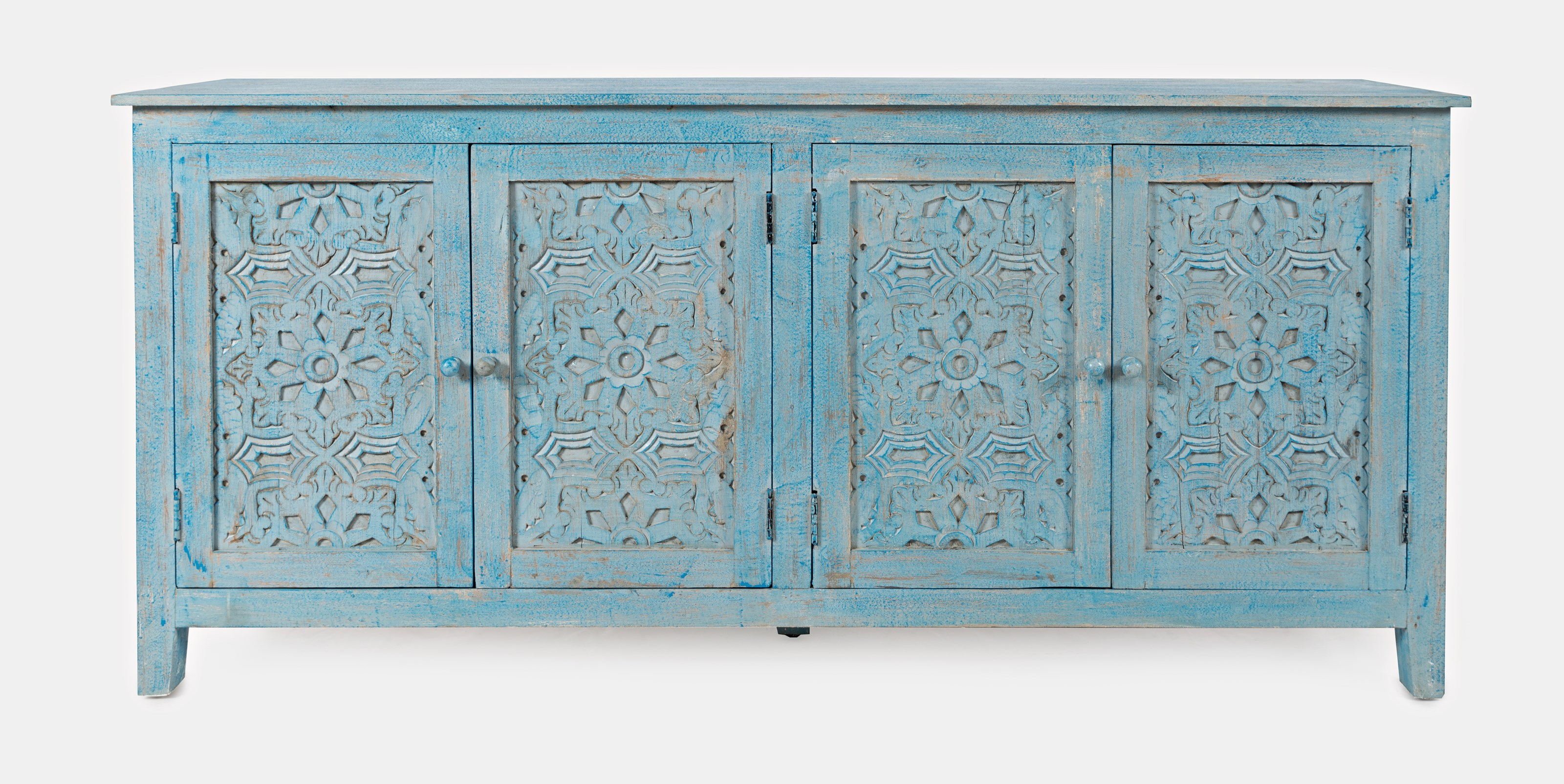 Global Archive Chloe 4 Door Accent Cabinet by Jofran at Stoney Creek Furniture
