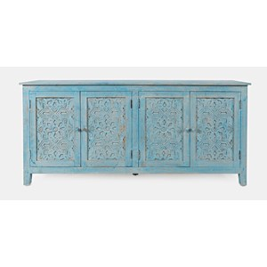Chloe 4 Door Accent Cabinet