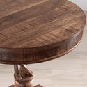 Jofran Global Archive Hand Carved Pedestal Table