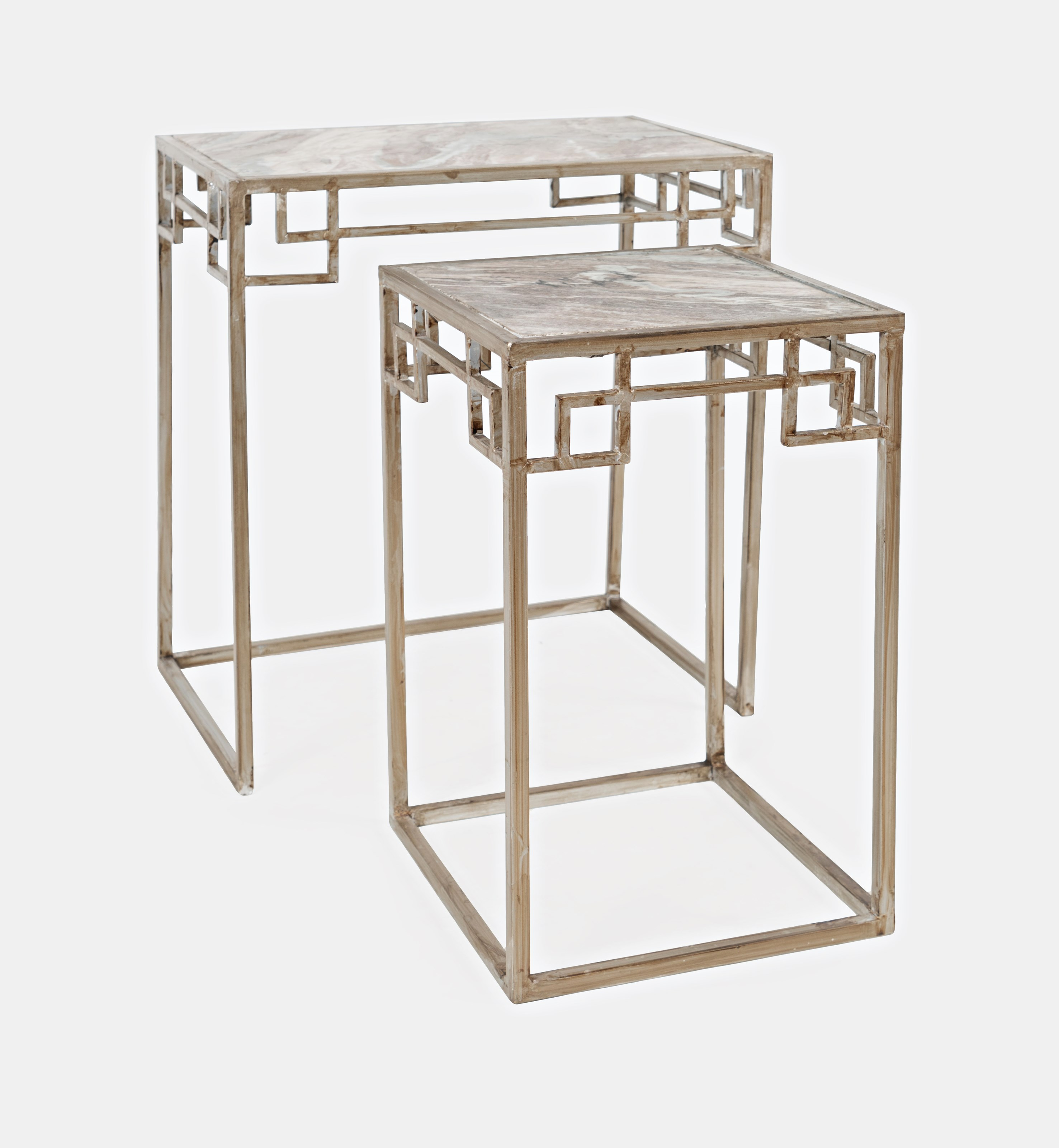 Novak Marble Nesting - Set of 2 Small Table