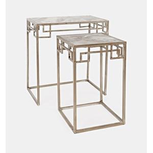 Novak Marble Nesting - Set of 2 Small Table
