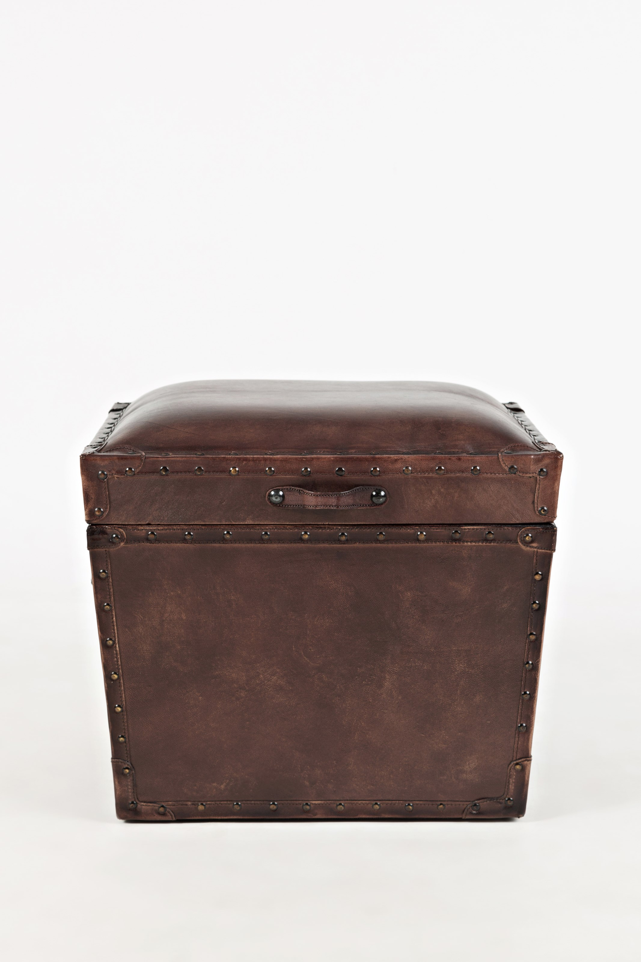 Leather Storage Chest