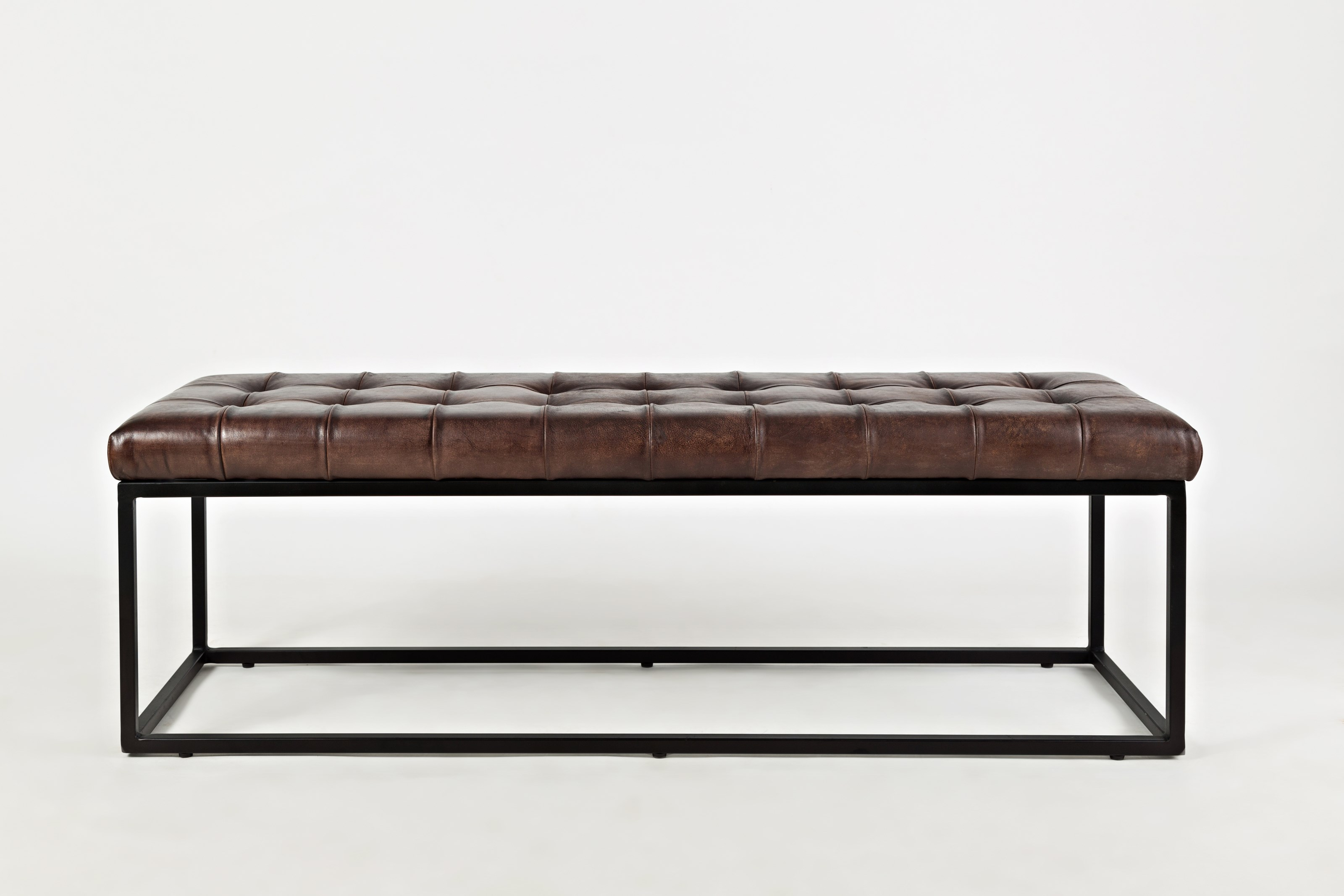 Jofran Global Archive Leather Ottoman - Item Number: 1730-78