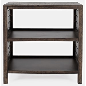 Clark Slatted Bookcase
