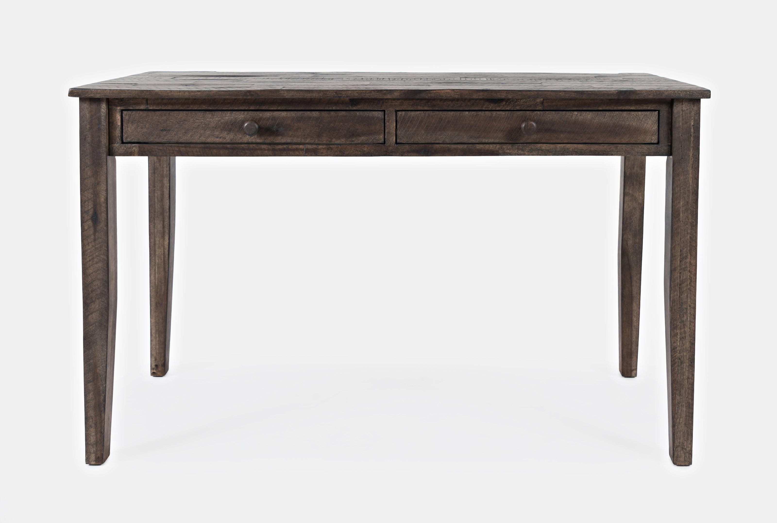 Global Archive Clark 2 Drawer Desk  by Jofran at Stoney Creek Furniture
