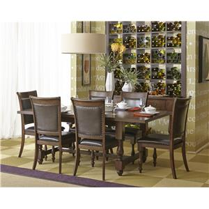 Jofran Grand Havana Dining Table and Chair Set
