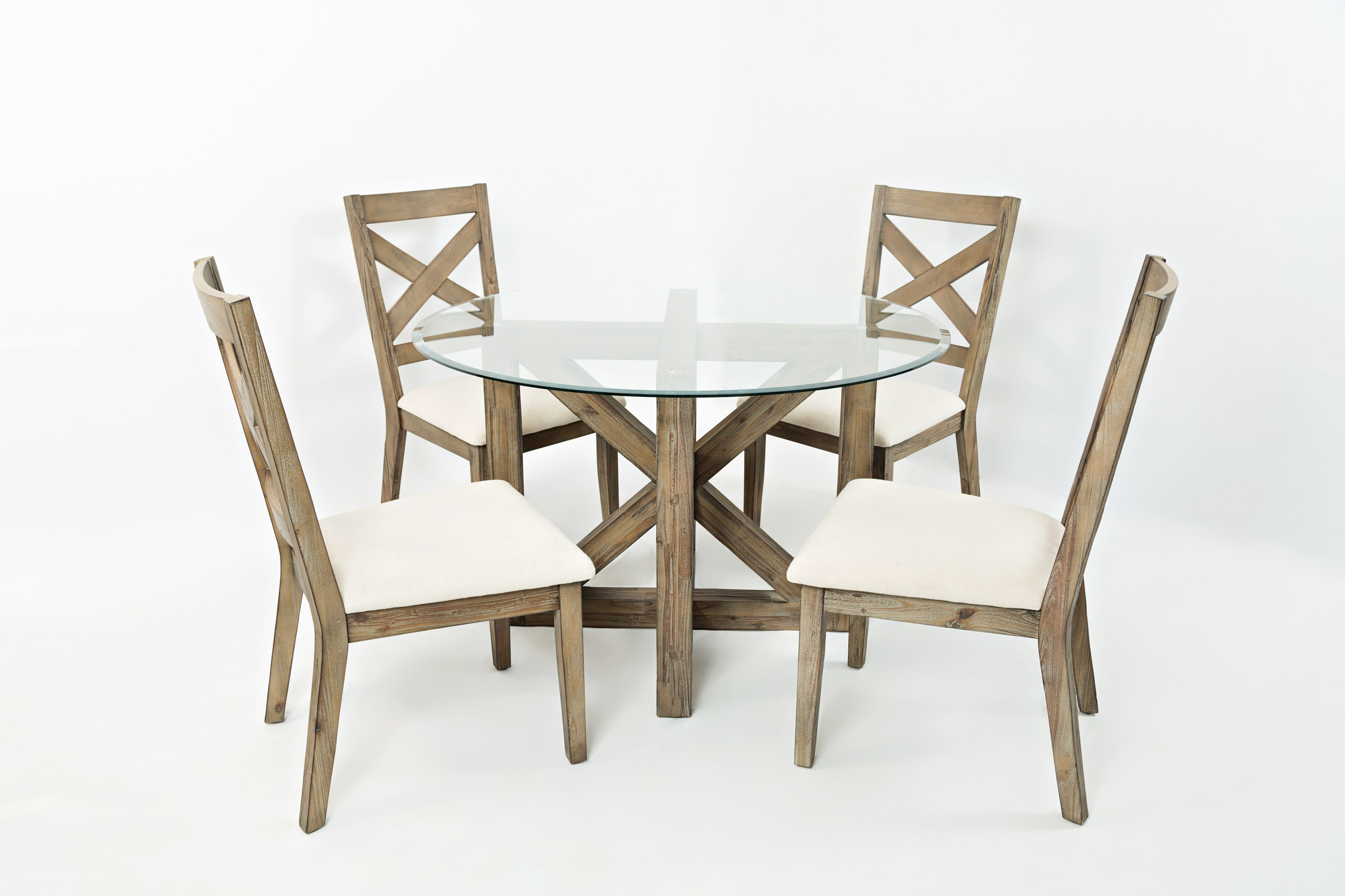 Hampton road round table and chair set 4 people for 4 person dining table set