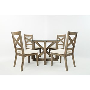 Jofran Hampton Road Round Table and Chair Set