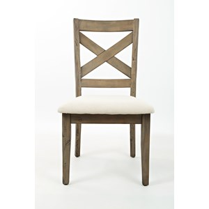 Belfort Essentials Hampton Road X Back Dining Chair