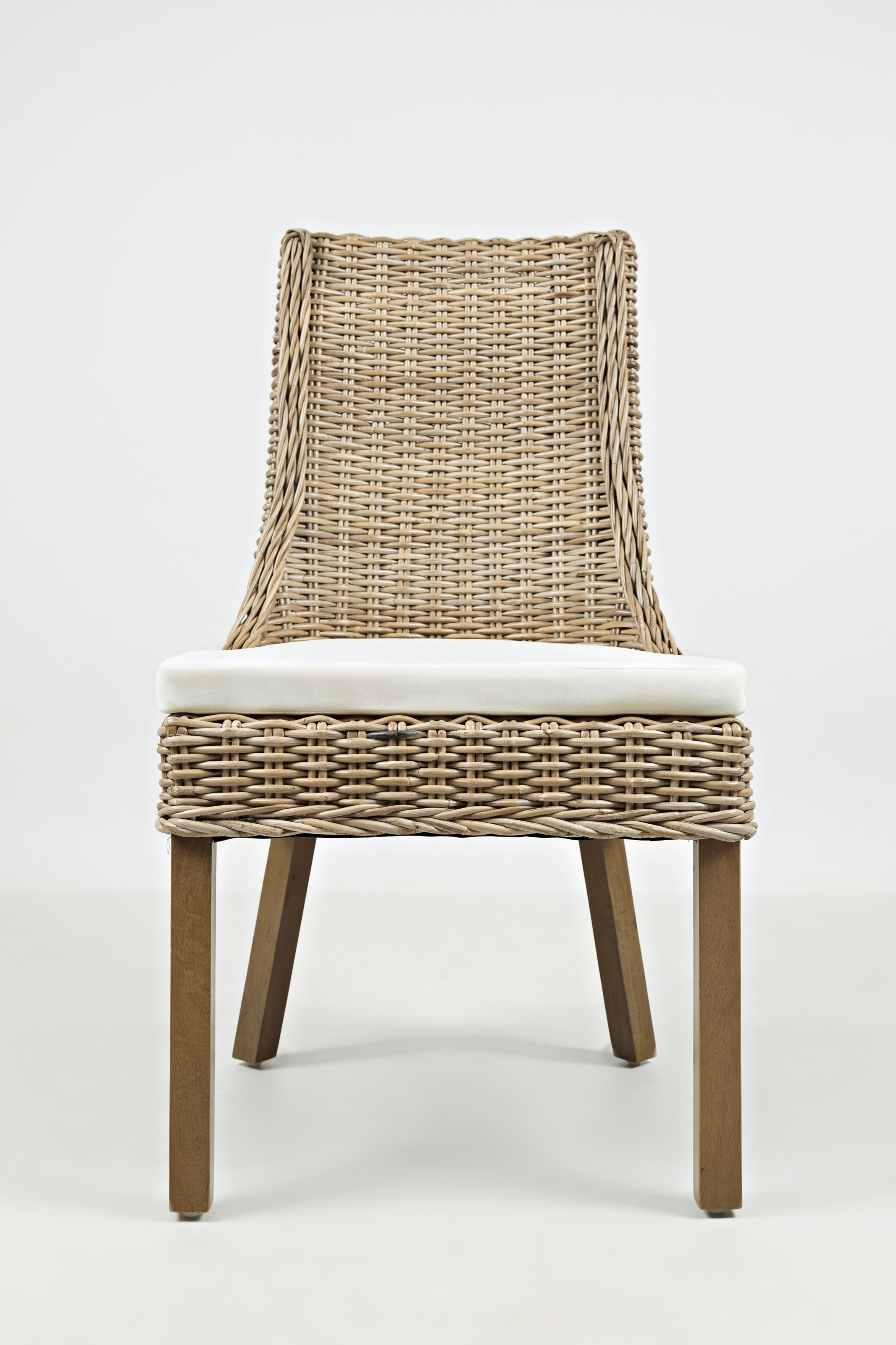 Jofran Hampton Road Rattan Dining Chair with Cushion - Item Number: 872-719KD