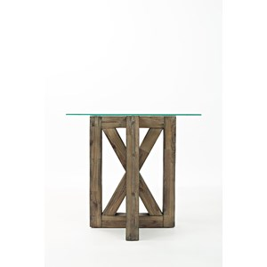Jofran Hampton Road Square End Table