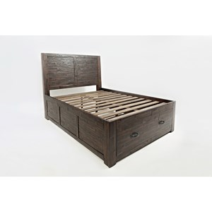Jofran Jackson Lodge Youth Full Storage Bed