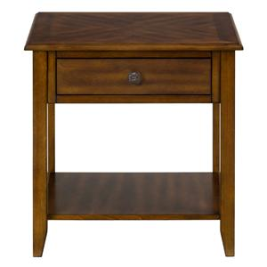 Jofran Medium Brown End Table
