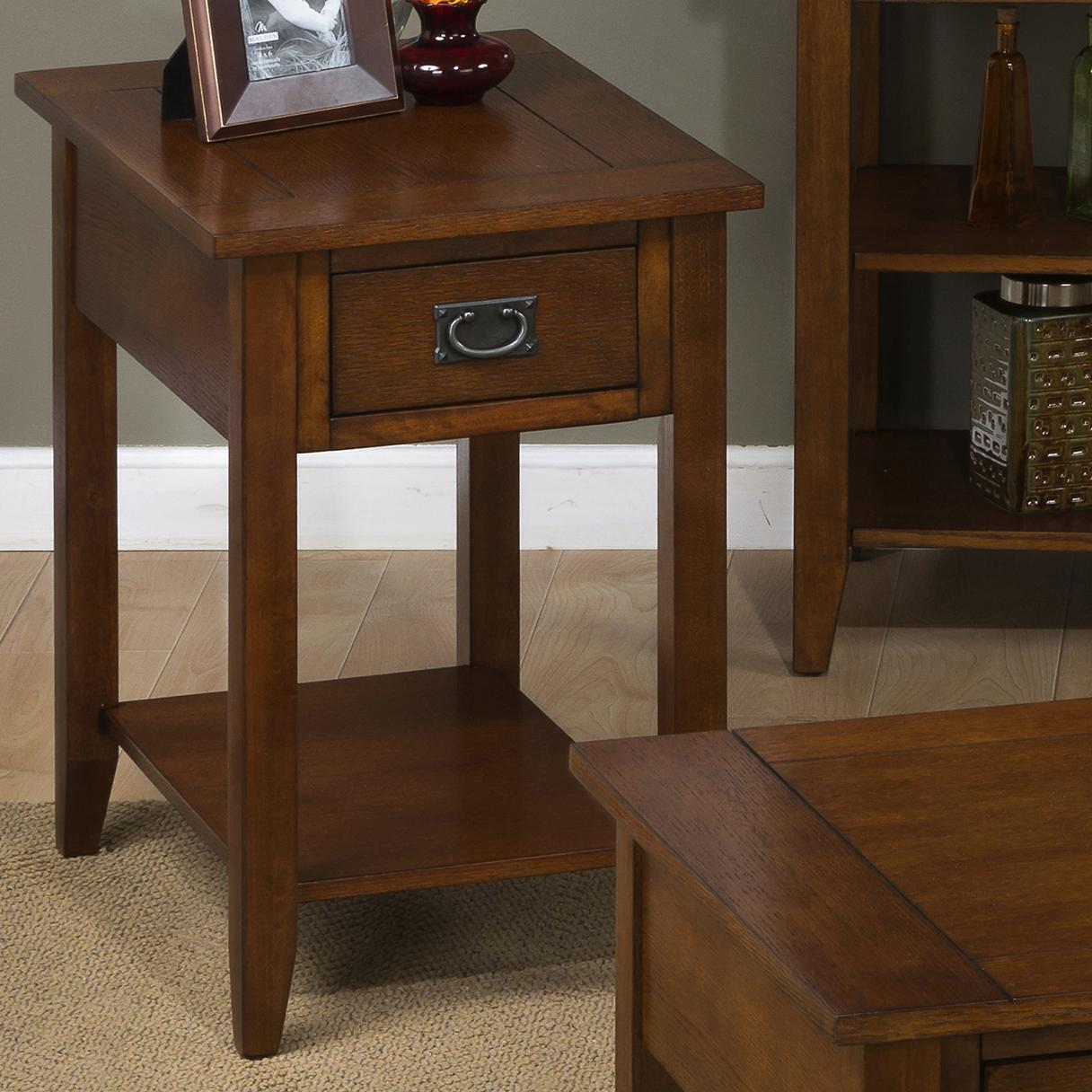 Morris Home Furnishings Kesling Kesling Chairside Table - Item Number: 1032-7