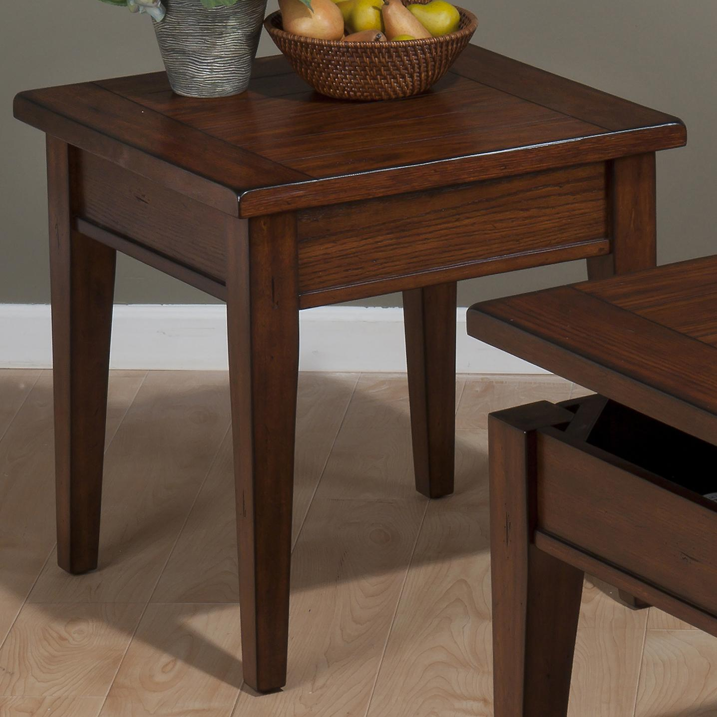 Jofran Dunbar Oak End Table - Item Number: 411-3
