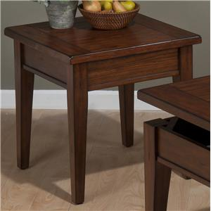 Jofran Dunbar Oak End Table