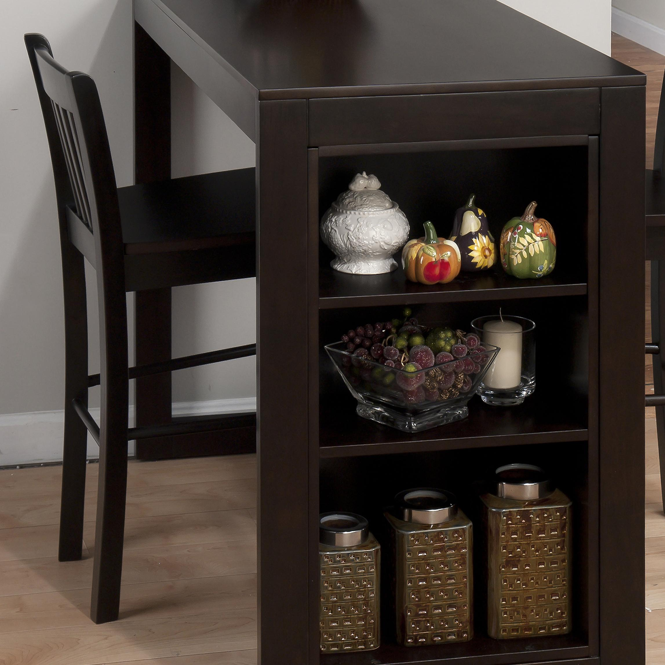Morris Home Furnishings Yatesville Yatesville Slat Back Counter Height Stool - Item Number: 810-BS293KD