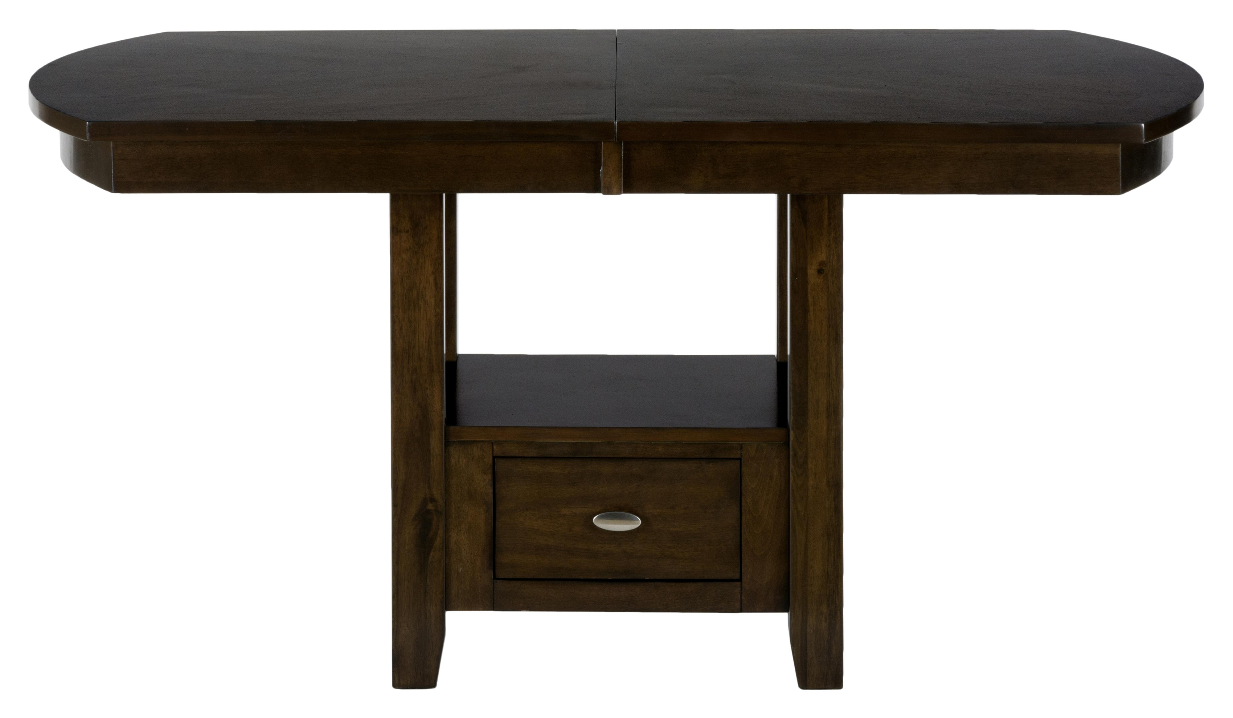 Jofran Mirandela Birch Dining/Counter Height Table  - Item Number: 836-78B+78T