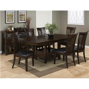 Jofran Tavia 5PC Dining Table & Chair Set