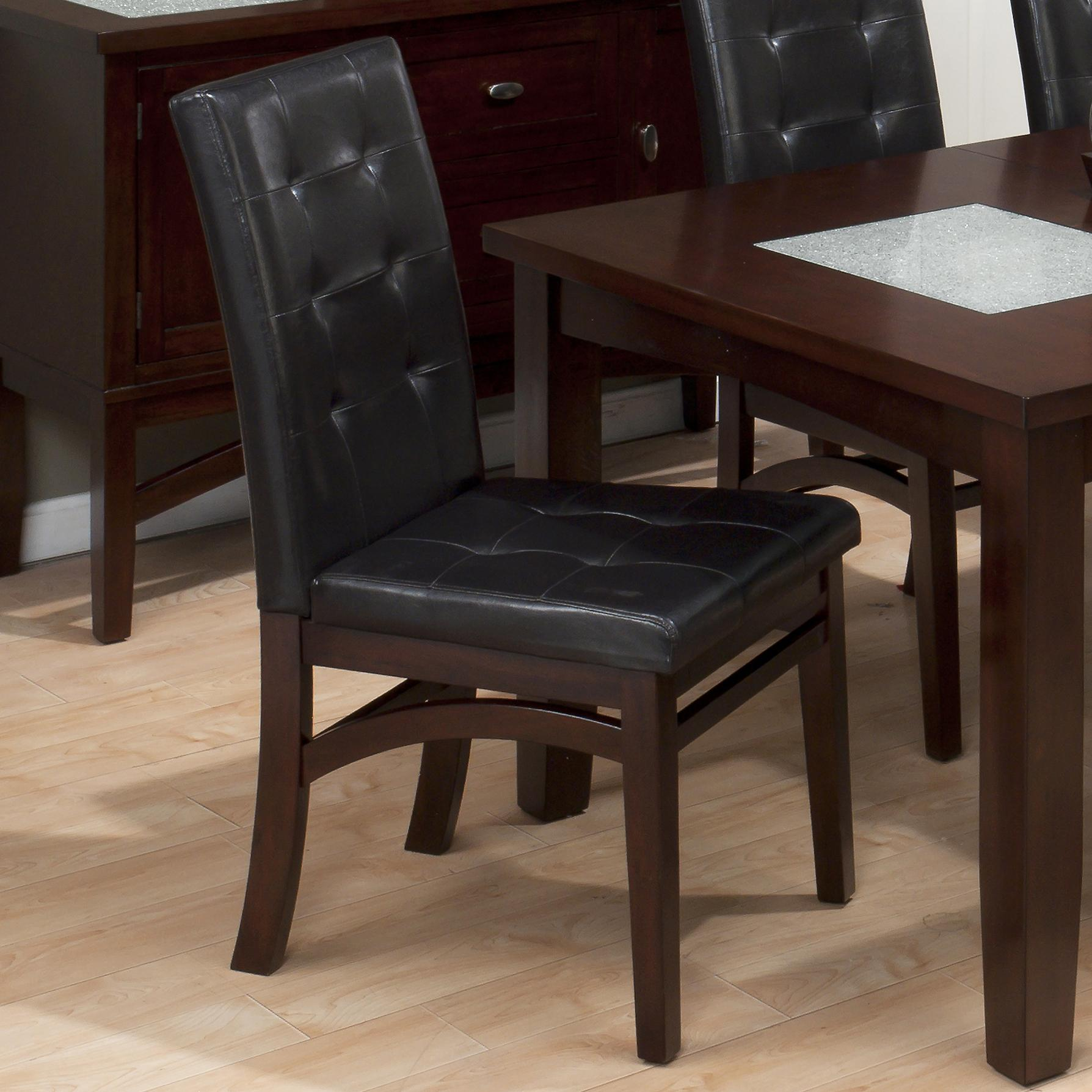 Jofran Chadwick Counter Height Table With Corner Bench And: Jofran Chadwick Espresso 7 Piece Dining Set With Tufted