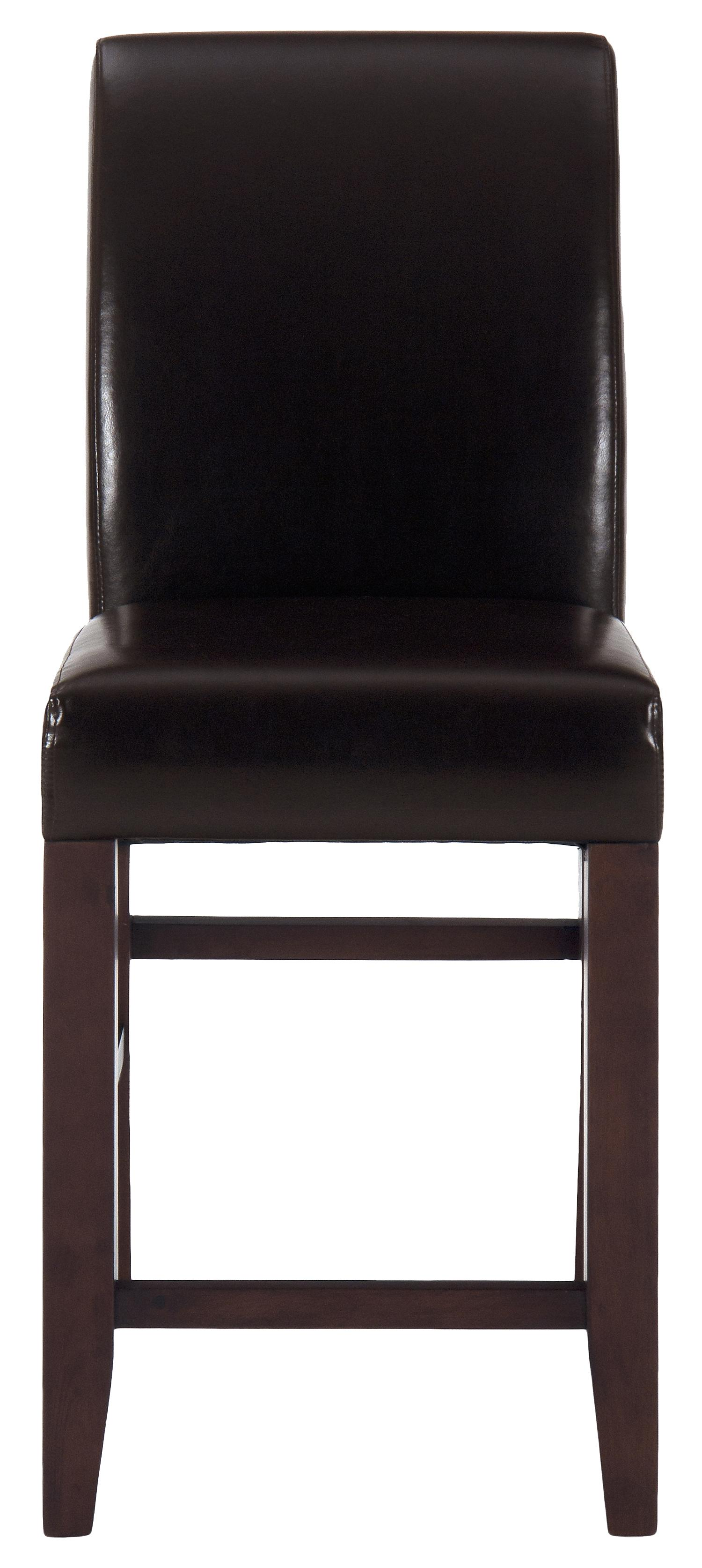 Jofran Carlsbad Cherry Bonded Leather Stool - Item Number: 888-BS485KD