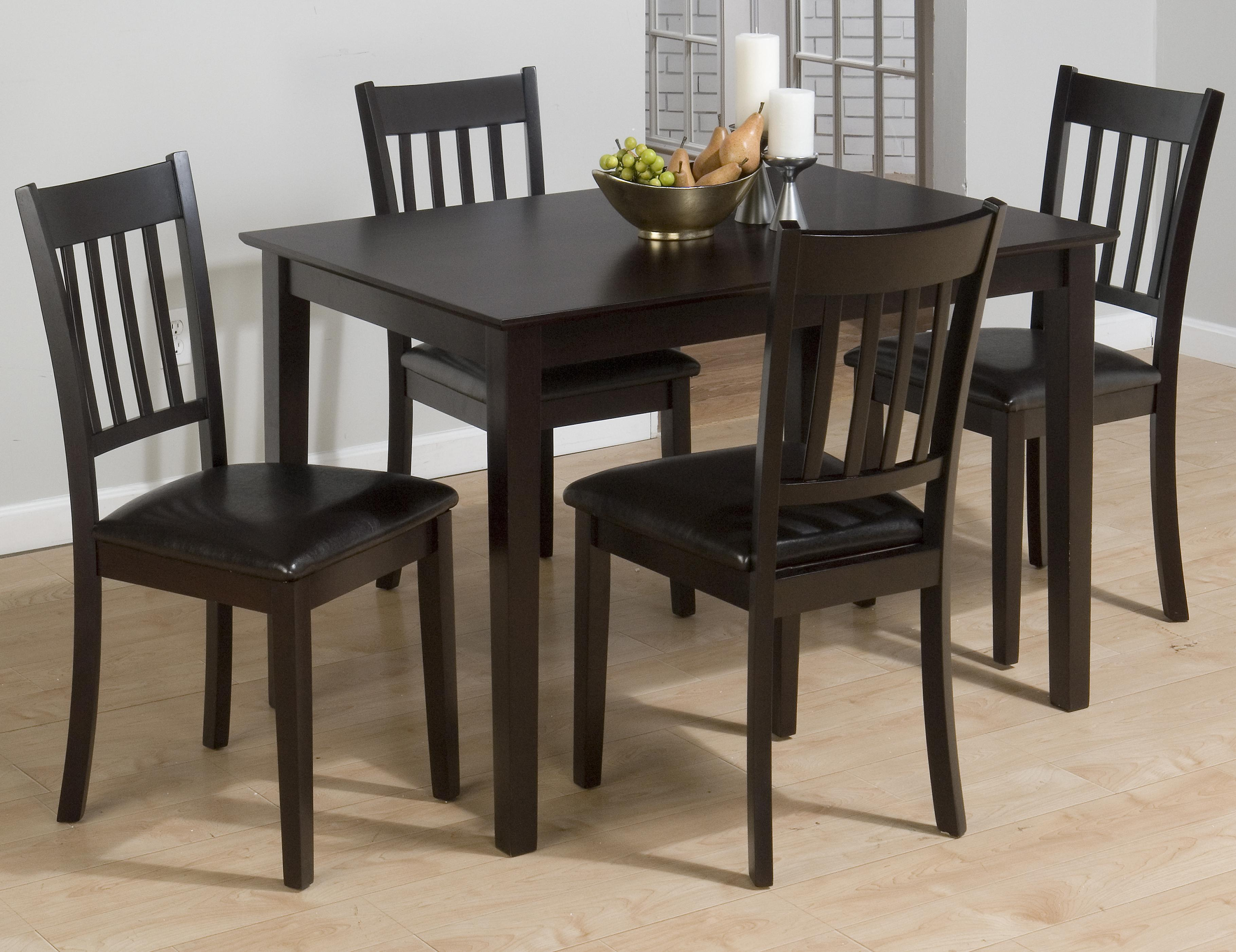 Jofran Marin County Five Piece Table and Chair Dining Set - Item Number: 891