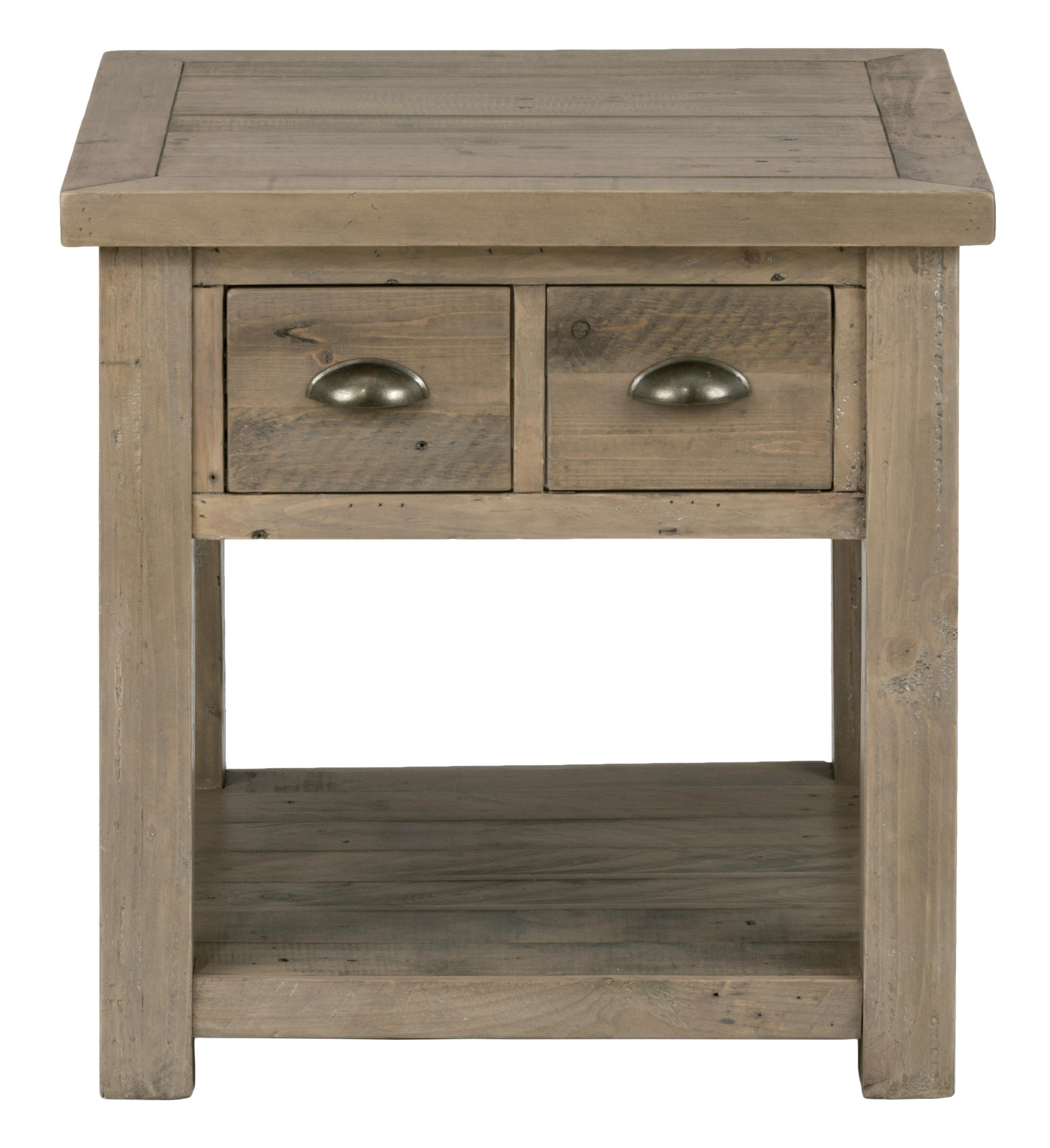 Jofran Slater Mill Pine End Table   Item Number: 940 3