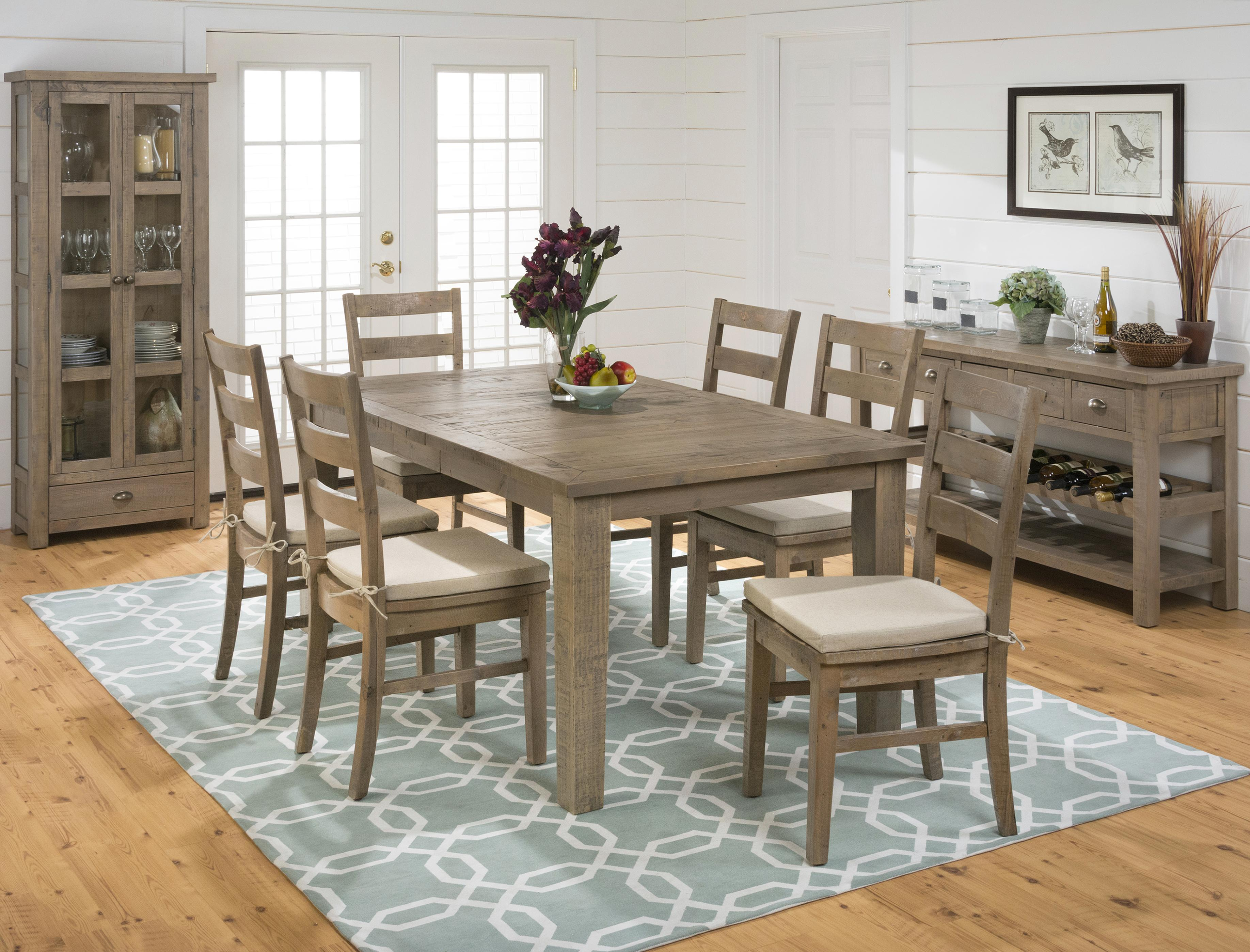 Lovely Jofran Slater Mill Pine Casual Dining Room Group   Item Number: 941 Dining  Room Group