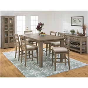 Jofran Bancroft Mills Casual Dining Room Group