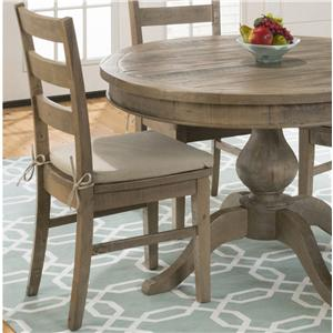 Belfort Essentials Slater Mill Pine Dining Side Chairs