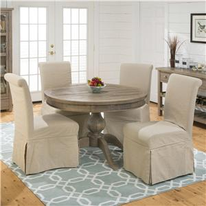 Jofran Slater Mill Pine 5-Piece Table Set