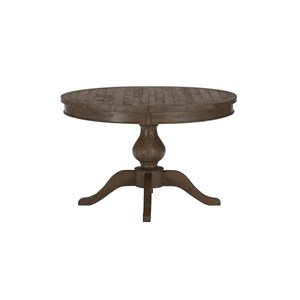 Jofran Bancroft Mills Round to Oval Dining Table