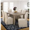 Jofran Slater Mill Pine Chair and Table Set  - Item Number: 941-72+6x162KD