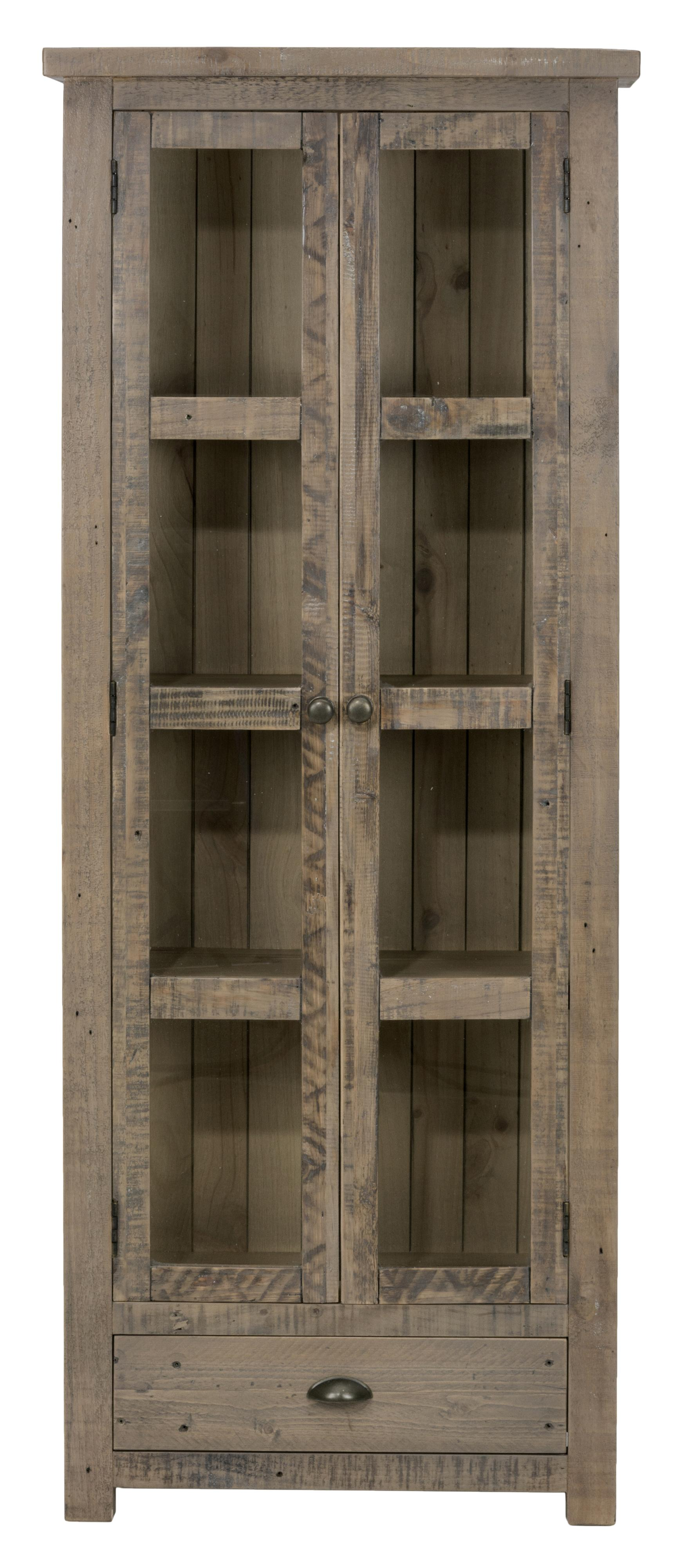 Jofran Slater Mill Pine Display Cupboard - Item Number: 941-91