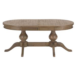 Jofran Slater Mill Pine Double Pedestal Table