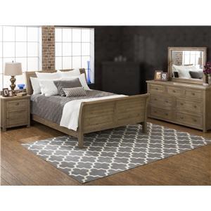 Jofran Bancroft Mills 4PC Queen Bedroom Set