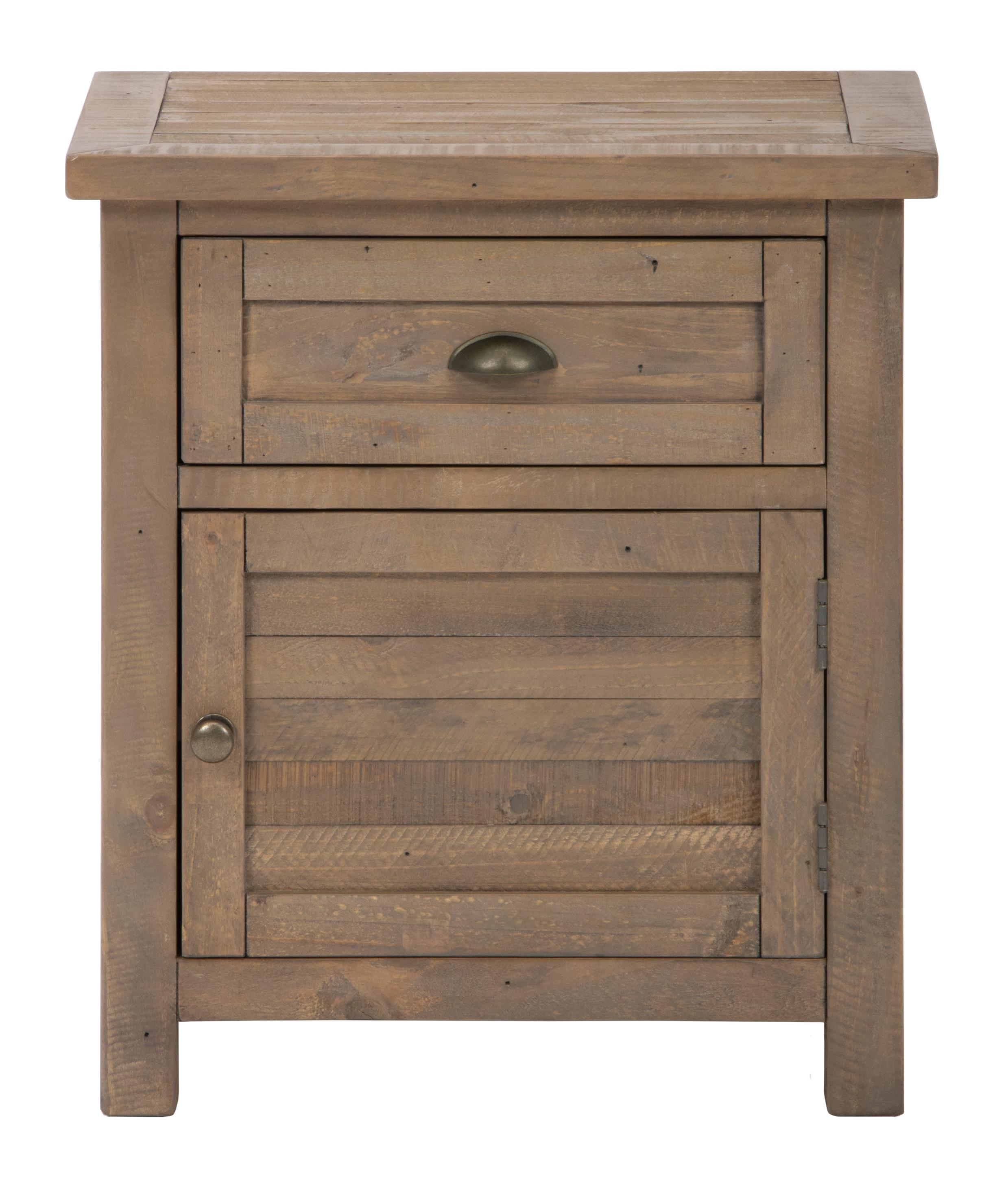 Jofran Slater Mill Pine Nightstand - Item Number: 943-90