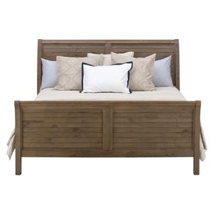 Jofran Slater Mill Pine King Sleigh Bed
