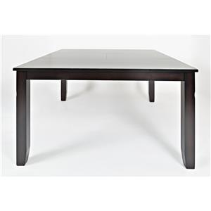 Jofran Dark Rustic Prairie Counter Height Table