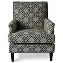 Jofran Accent Chairs Aubrey Accent Chair - Item Number: AUBREY-CH-MIDNIGHT